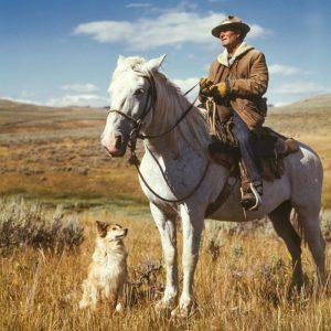 cowboy in denim