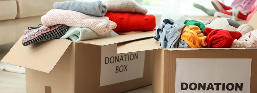 fast fashion donations