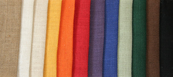 jute colour swatches