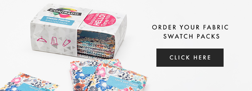 100 fabric swatch pack
