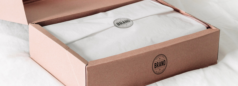 brand logo on box - private labelling