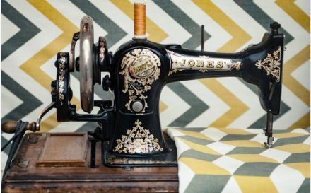 sewing machine fabric