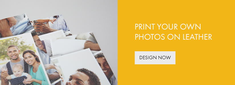 print your own photos on leather