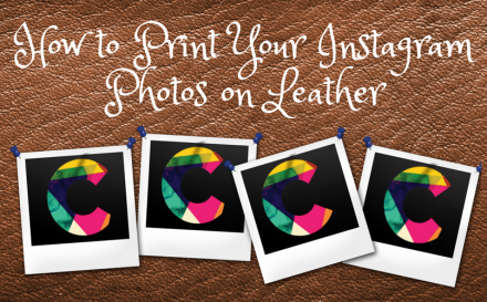 photos on leather