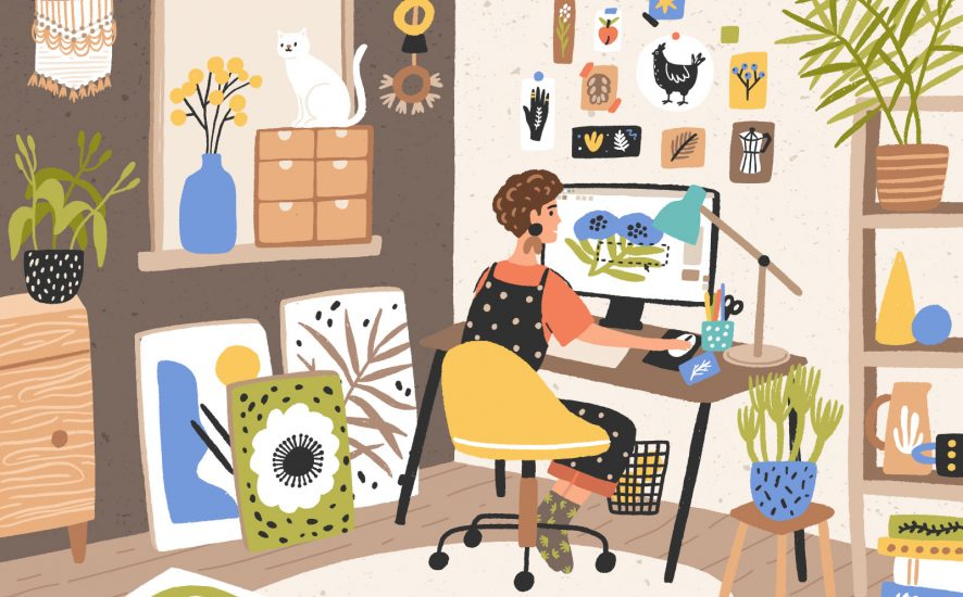 creative careers for introvert artists